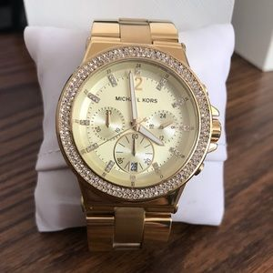 Authentic gold Michael Kors watch